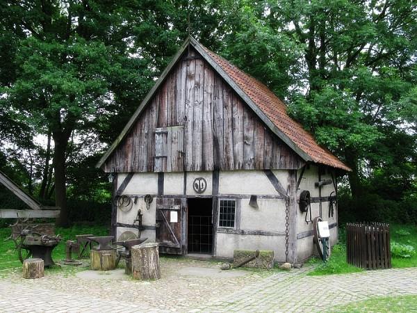 Dorfschmiede | Mühlenhof-Freilichtmuseum Münster