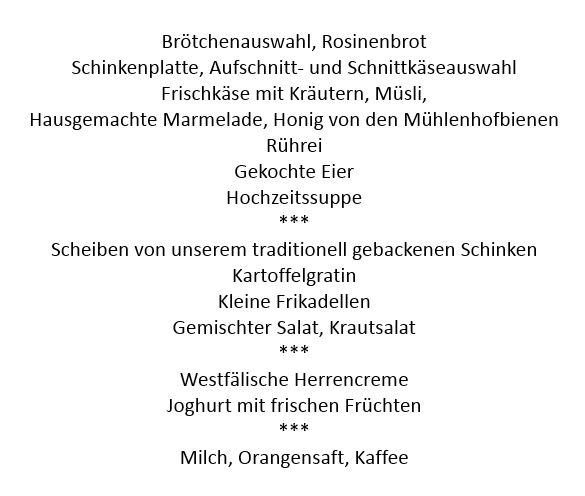 Brunchbuffet